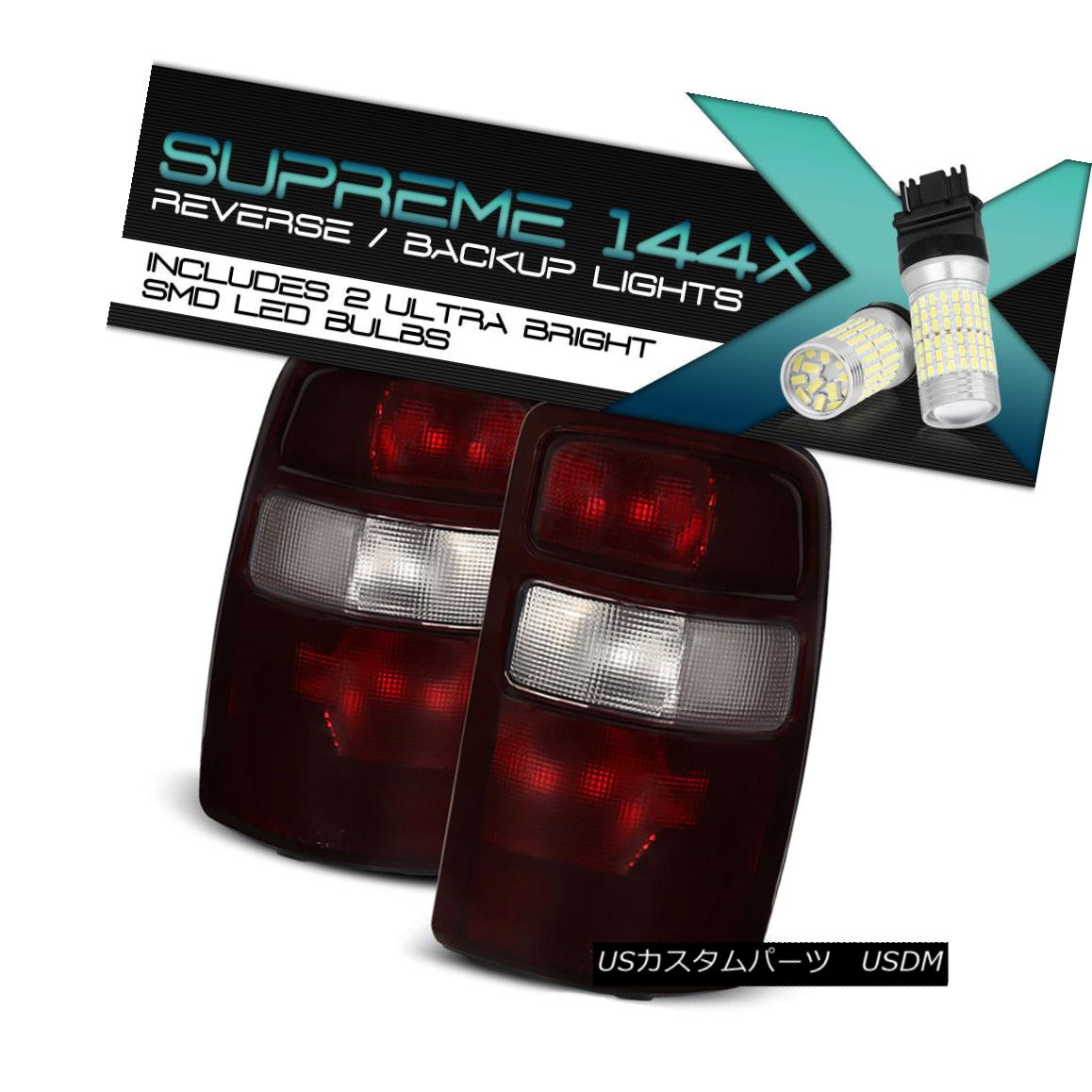テールライト Full SMD Backup [DARK RED] 2000-2006 Tahoe Tahoe Yukon 2000-2006 Yukon Suburban Rear Brake Tail Lights フルSMDバックアップ[DARK RED] 2000-2006 Tahoe Yukon郊外のリアブレーキテールライト, 塩原町:48dc0ba0 --- officewill.xsrv.jp