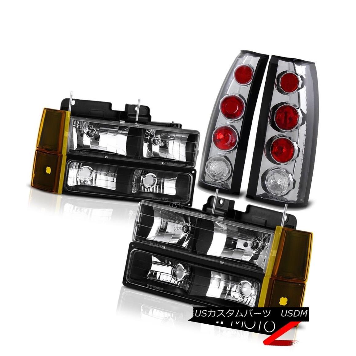 テールライト 94-98 Taillamps Sierra 1500 Style Chrome Taillamps Headlamps Bumper 94-98 Euro Factory Style Assembly 94-98 Sierra 1500 Chrome Taillampsヘッドランプバンパーユーロ工場スタイルアセンブリ, KVK AQUA SHOP:bf402d50 --- officewill.xsrv.jp