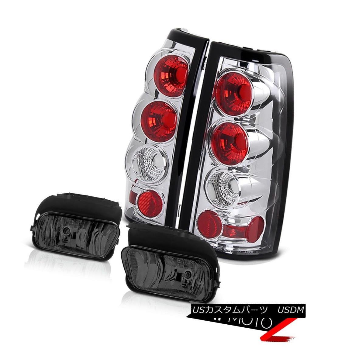 テールライト Chrome Rear Silverado Brake Chrome Tail 4.3L 03-06 Lamp Smoke Driving Foglights 03-06 Silverado 4.3L クロームリアブレーキブレーキクロームテールランプスモークドライビングフォグライト03-06 Silverado 4.3L, ミチオショップ【作業服 事務服】:a2cce138 --- officewill.xsrv.jp