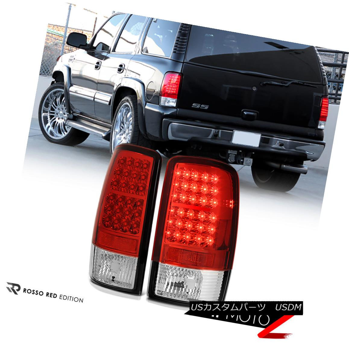 テールライト Lamps 2000-2006 Chevy Taillights Suburban Red Red Chrome [BRIGHTEST] LED Rear Brake Taillights Lamps 2000-2006シボレー郊外レッドクローム[BRIGHTEST] LEDリアブレーキライトランプ, 新利根町:e4d4bdcd --- officewill.xsrv.jp