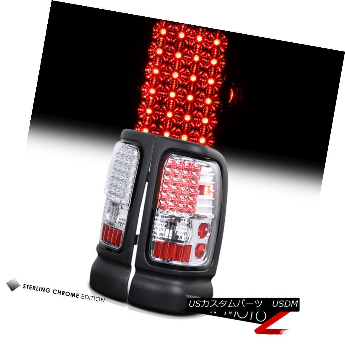テールライト L+R 1500 Chrome L+R LED Tail Light Brake Signal Lamp Brake Assembly 94-01 Dodge RAM Pickup 1500 L + RクロームLEDテールライトブレーキ信号ランプアセンブリ94-01ダッジRAMピックアップ1500, ナカシベツチョウ:a4427248 --- officewill.xsrv.jp