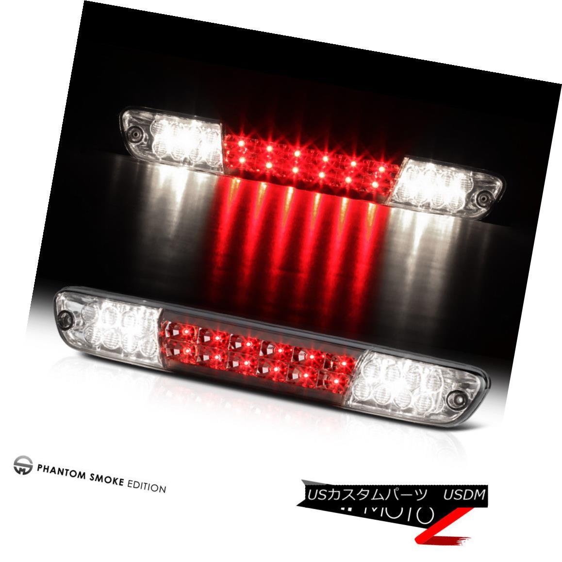 テールライト 2004-2012 Chevy Colorado GMC Canyon Smoke LED Cargo Cab Third Brake Tail Lights 2004年?2012年シボレー・コロラド州GMCキャニオン・スモークLEDカーゴ・キャブ第3ブレーキ・テール・ライト