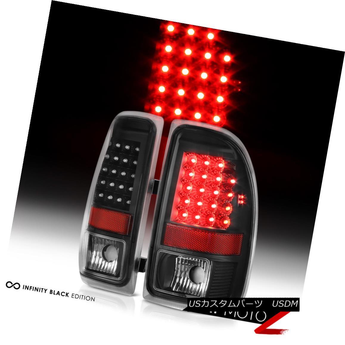 テールライト 1997-2004 Dodge Dakota Black LED Brake Signal Brake Lamp Tail Lights LEFT RIGHT 1997-2004 Dodge Dakota黒色LEDブレーキ信号ブレーキランプテールライトLEFT RIGHT