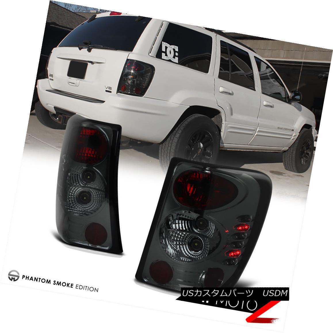 テールライト [SMOKE LEFT+RIGHT] 99-04 JEEP Grand Cherokee Laredo Limited Brake Tail Light LED [SMOKE LEFT + RIGHT] 99-04ジープグランドチェロキーラレド限定ブレーキテールライトLED