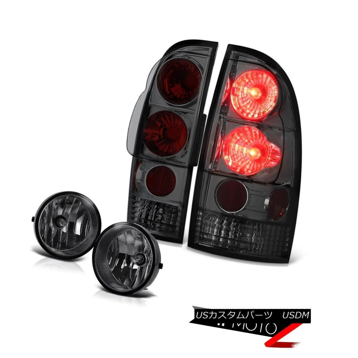 テールライト 2005-2011 Toyota Tacoma Smoke Rear Brake Signal Tail Lights Fog Lamps Wiring Kit 2005-2011 Toyota Tacoma Smokeリアブレーキ信号テールライトフォグランプ配線キット