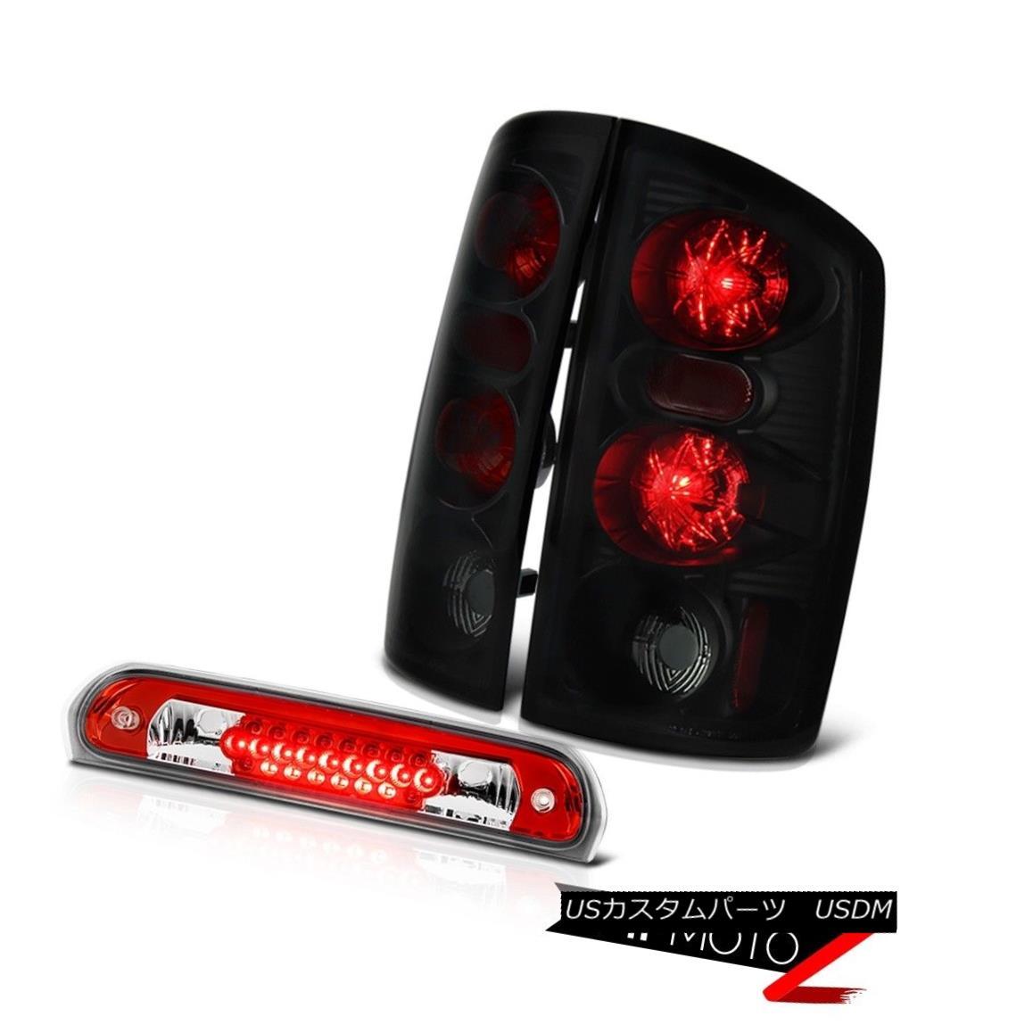 テールライト Sinister Black Tail Lamps Roof Third Brake LED Red Cargo 2006 Dodge Ram Hemi Sinister Blackテールランプ屋根第3ブレーキLED Red Cargo 2006 Dodge Ram Hemi