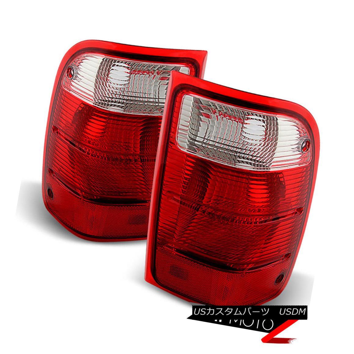テールライト 2001-2011 Ford Ranger [FACTORY REPLACEMENT] Rear LEFT+RIGHT Brake Tail Lights 2001?2011年フォードレンジャー[FACTORY REPLACEMENT]リア左+右ブレーキテールライト