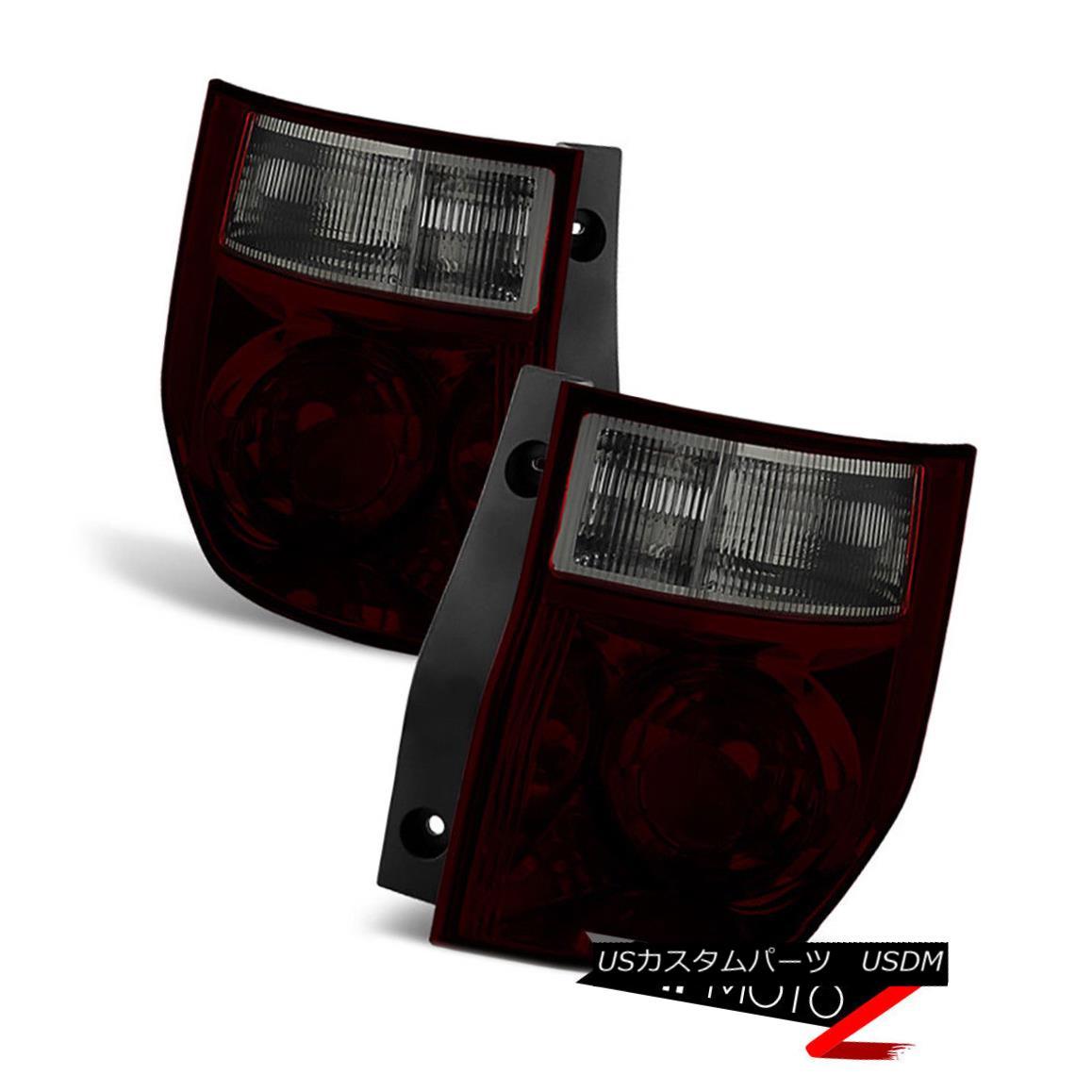 テールライト [ROSSO BURGUNDY] 2003-2008 Honda Element Rear Brake Tail Lights Brake Lamps Set [ROSSO BURGUNDY] 2003-2008ホンダエレメントリアブレーキテールライトブレーキランプセット