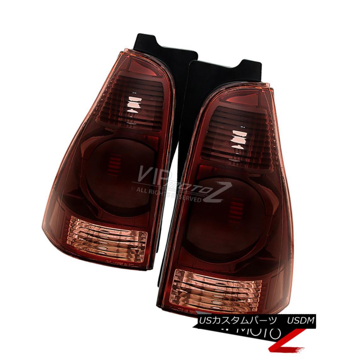 テールライト 2003-2005 4Runner SR5 Sport Factory Style Tail Lights Left Right Dark Smoke Tint 2003 - 2005年4Runner SR5スポーツ工場スタイルのテールライトは、右の左の暗い煙の色合い
