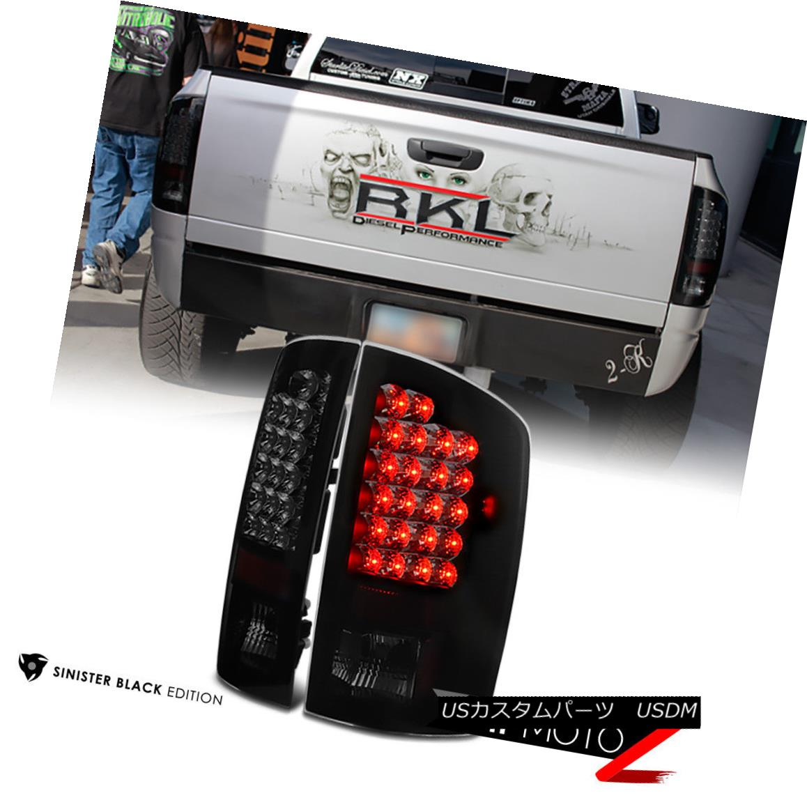 テールライト 2002-2006 Dodge Ram 1500 2500 3500 [SINISTER BLACK] LED Rear Brake Taillight LED 2002-2006 Dodge Ram 1500 2500 3500 [SINISTER BLACK] LEDリアブレーキ尾灯LED