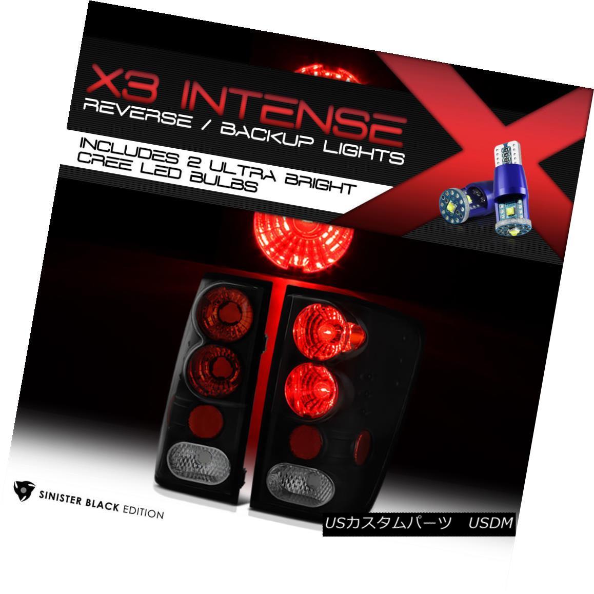 テールライト [Cree LED Reverse] {BLACK} For 04-2014 Titan V8 TA60 2wd/4wd PRO4X/SV Tail Light [クリーLEDバック] {BLACK} 04-2014タイタンV8 TA60 2WD / 4WD PRO4X / SVテールライト