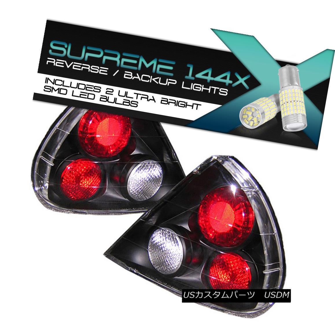 テールライト {Full SMD Reverse} Mirage 97-98 2/4DR DE LS ES Black Brake Signal LED Tail Light {フルSMDリバース}ミラージュ97-98 2 / 4DR DE LS ESブラックブレーキ信号LEDテールライト