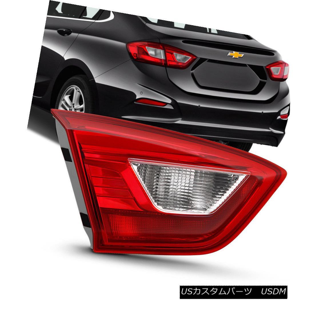 テールライト 16-18 Chevy Cruze Sedan Replacement Left Side Inner Trunk Tail Light Brake Lamp 16-18シボレークルーズセダン交換左側サイドトランクテールライトブレーキランプ