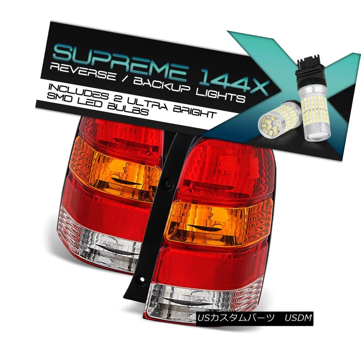 テールライト [Full SMD Reverse] 2001-2007 Ford Escape [FACTORY STYLE] Brake Tail Lights PAIR [フルSMDリバース] 2001-2007 Ford Escape [ファクトリースタイル]ブレーキテールライトペア