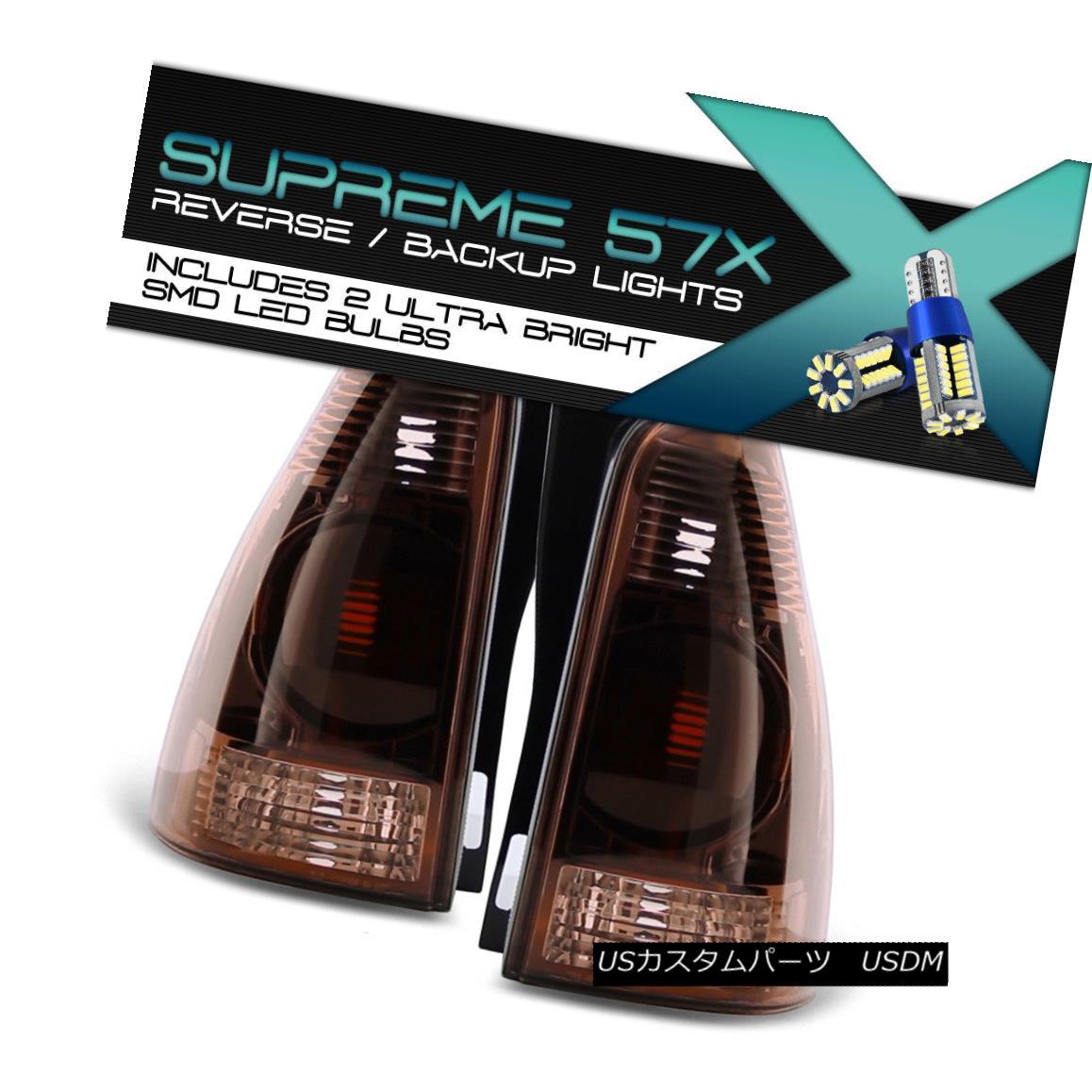 テールライト !FULL SMD REVERSE! 03-05 4Runner SR5 Sport Factory Style Tail Lights Dark Smoke !FULL SMD REVERSE! 03-05 4Runner SR5スポーツファクトリーテールライトダークスモーク