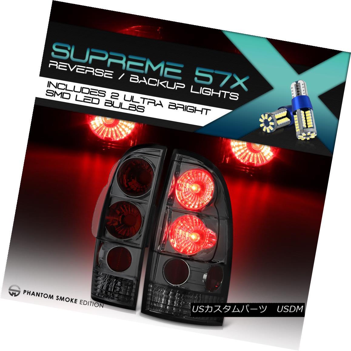テールライト [Full SMD Backup] [SMOKE LEN] 05-08 Toyota Tacoma Pre Runner X Runner Tail Light [フルSMDバックアップ] [SMOKE LEN] 05-08トヨタタコマプレランナーXランナーテールライト