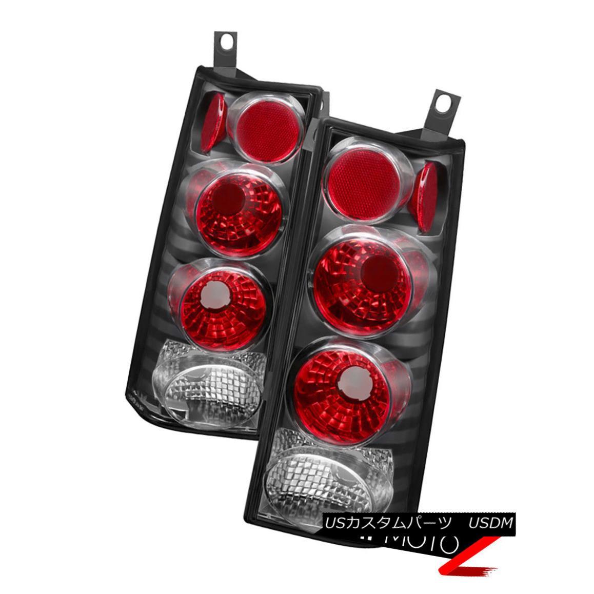 テールライト Black 2003-2014 Chevy Express GMC Savana 1500 2500 3500 Tail Lights Lamps Pair ブラック2003-2014シボレーエクスプレスGMCサバナ1500 2500 3500テールライトランプペア