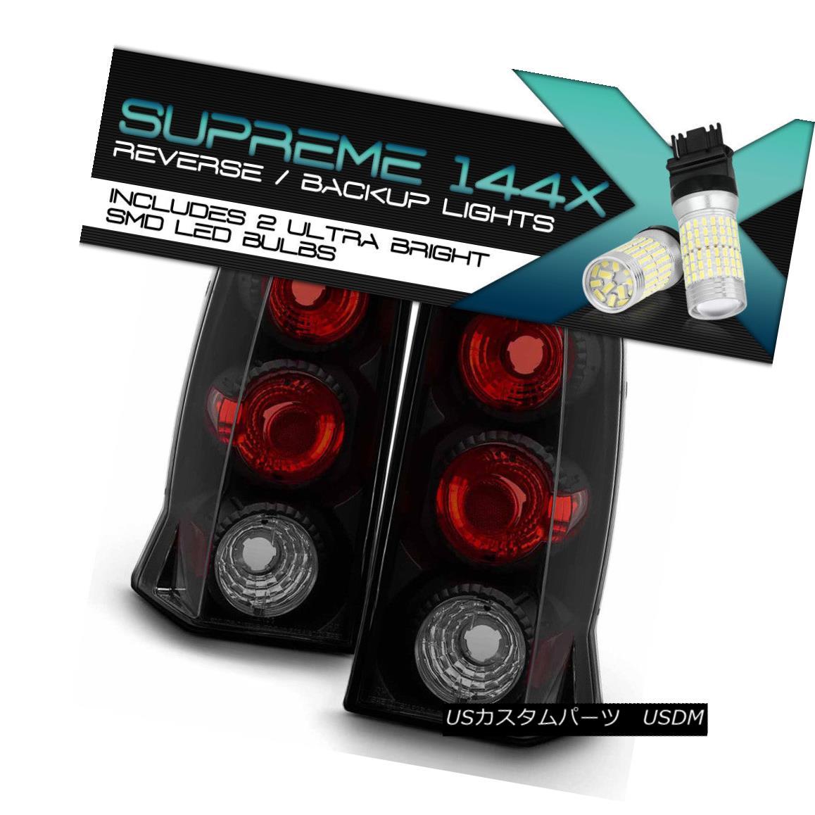 テールライト !360 Degree SMD Backup! 02-06 Cadillac Escalade ESV Tail Lights Left+Right SET 360度SMDバックアップ! 02-06キャデラックエスカレードESVテールライト左+右SET