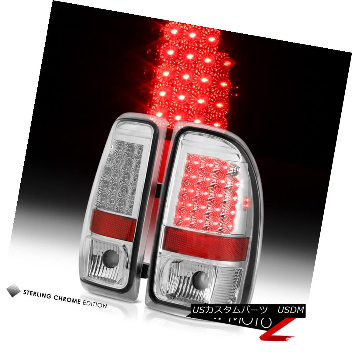 テールライト EURO CHROME 1997 1998 1999 2000 2001 2002 2003 2004 Dakota LED Tail Lights Lamps EURO CHROME 1997 1998 1999 2000 2001 2002 2003 2004ダコタLEDテールライトランプ