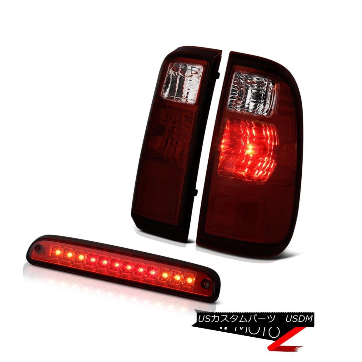 テールライト 2008 2009 2010 Ford F250 F350 SuperDuty Rear Tail Lights Third Brake Cargo Lamps 2008年2009年2010 Ford F250 F350 SuperDutyリアテールライト第3ブレーキカーゴランプ