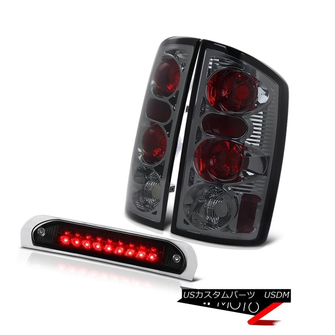 テールライト Smoke Red Rear Brake Tail Lights Black 3rd Brake LED Lamps 02 03 04 05 Ram WS スモークレッドリアブレーキテールライトブラック第3ブレーキLEDランプ02 03 04 05 Ram WS