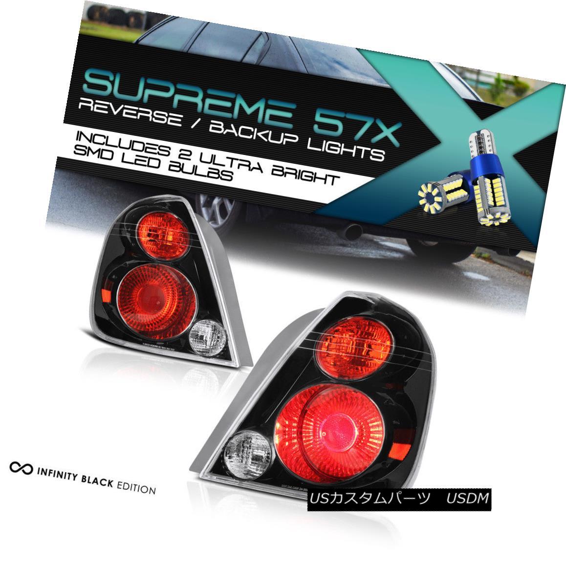 テールライト [360 DEGREE SMD REVERSE] Fits 2002-2006 Altima SE-R OE Style Taillamp Left Right [360°SMD REVERSE] 2002-2006 Altima SE-R OEスタイルのタイルランプを右に固定