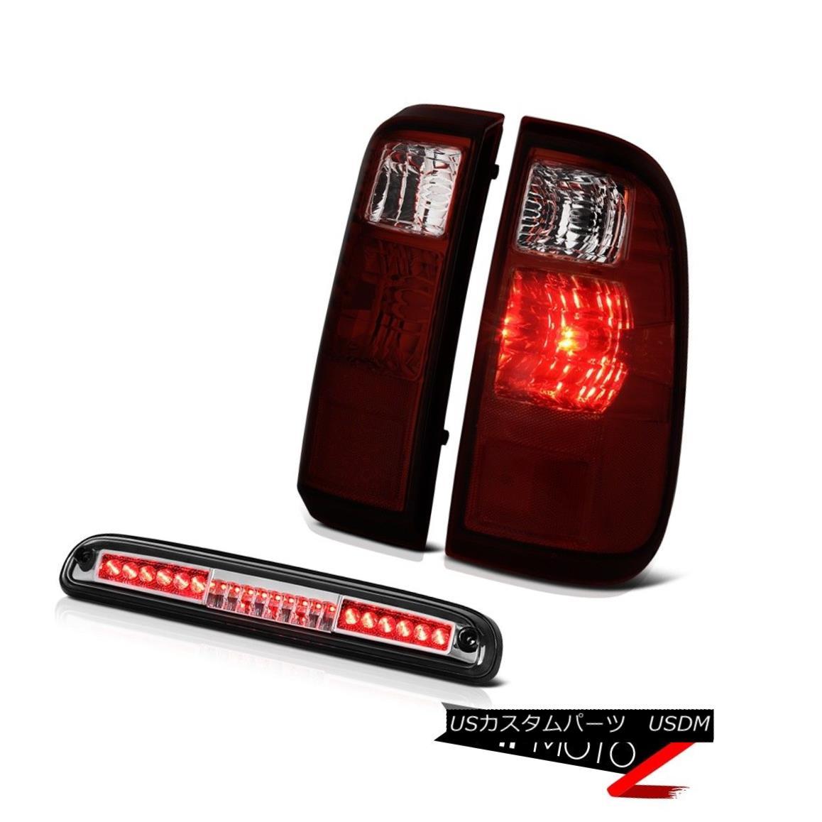 テールライト 2008 2009 2010 Ford F250 F350 SuperDuty Rear Cherry Red Tail Light LED Cargo Cab 2008年2009年2010年Ford F250 F350 SuperDutyリアチェリーレッドテールライトLEDカーゴキャブ