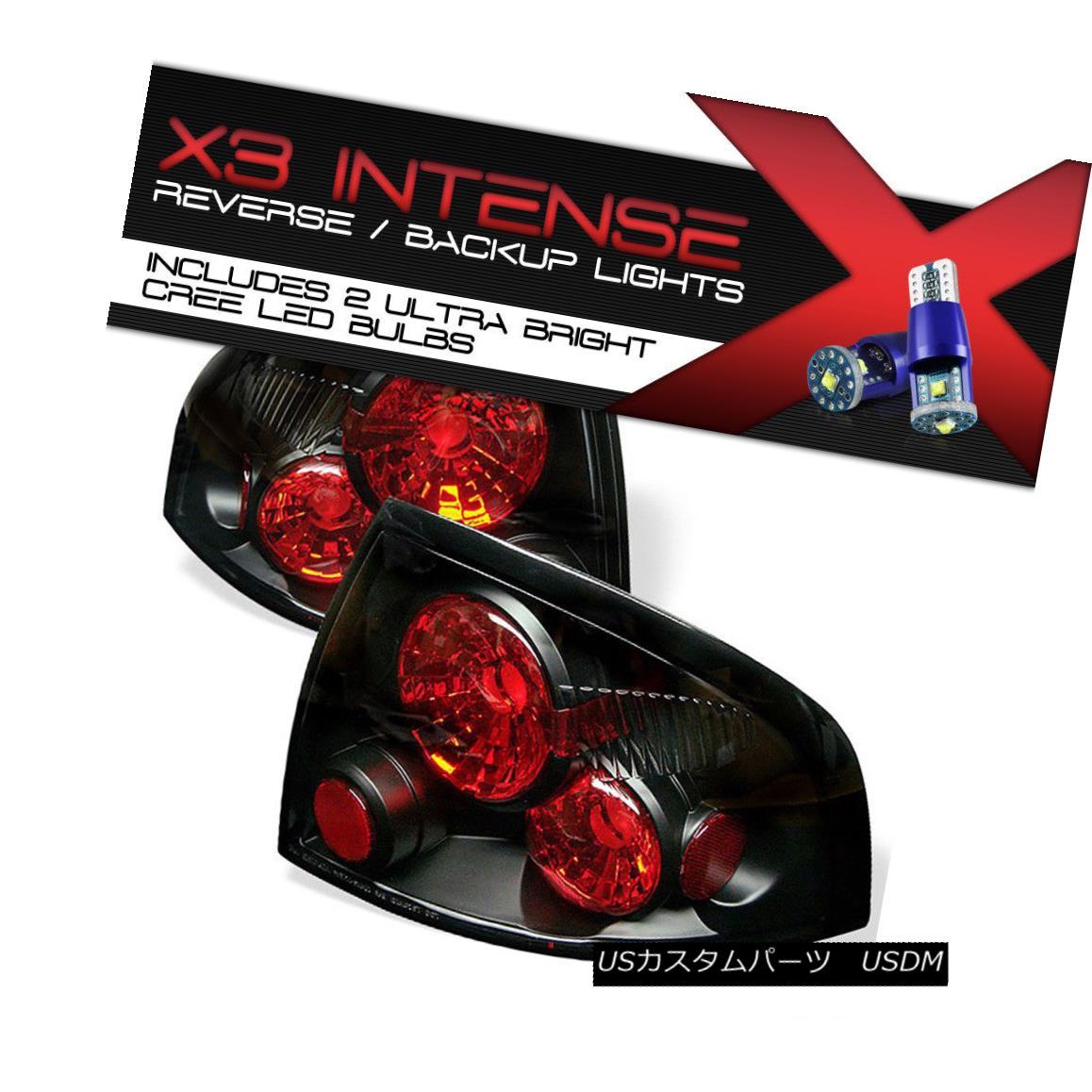 テールライト {HIGH-POWER CREE REVERSE} For Sentra B15 SR20DE 00-03 Black Signal RED Taillight {HIGH-POWER CREE REVERSE} Sentra B15用SR20DE 00-03ブラック信号REDTillight