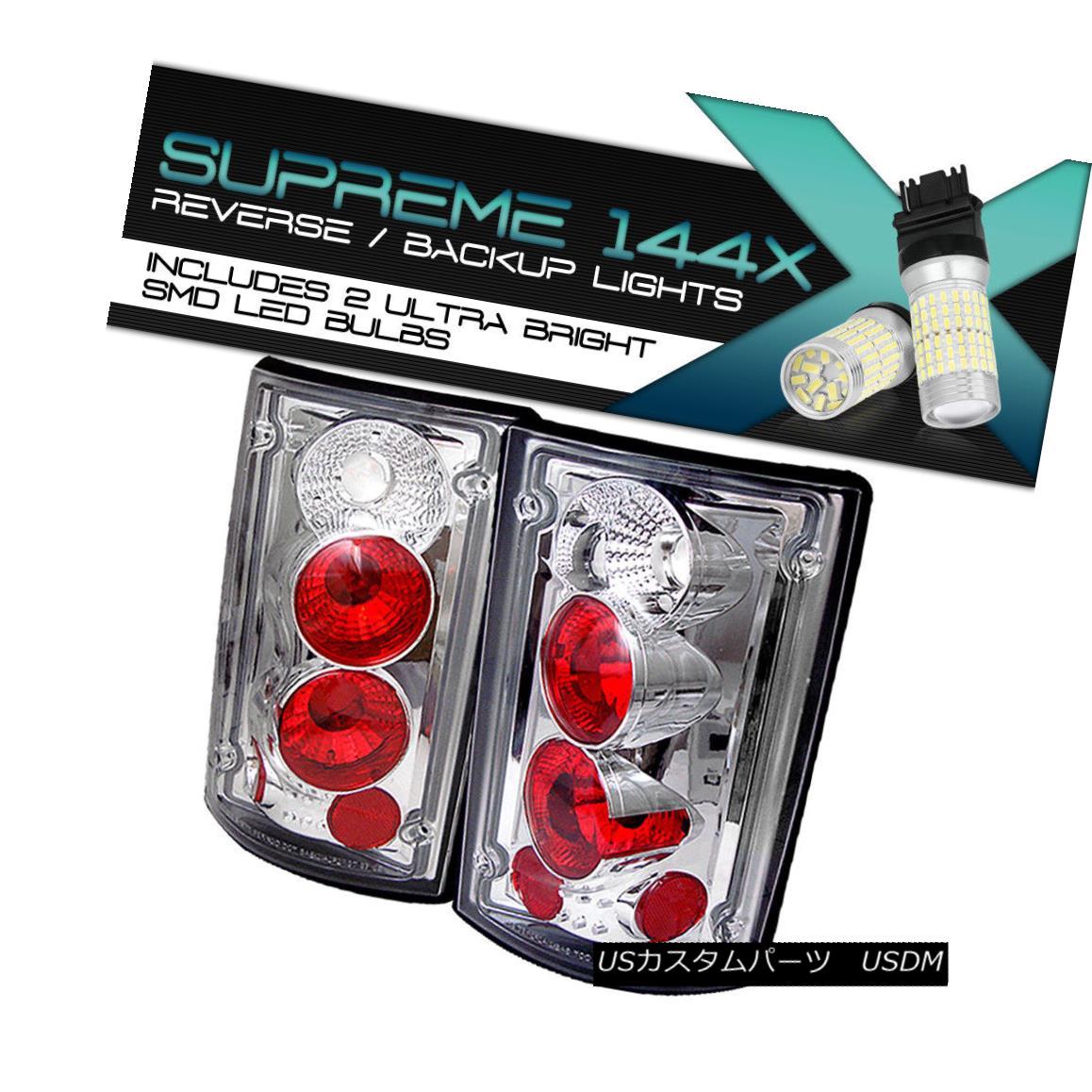 テールライト !360 DEGREE SMD BACKUP! 00-06 Ford Excursion 95-06 Econoline Tail Light L+R Pair 360°SMDバックアップ! 00-06フォードエクスカーション95-06エコノリンテールライトL + Rペア