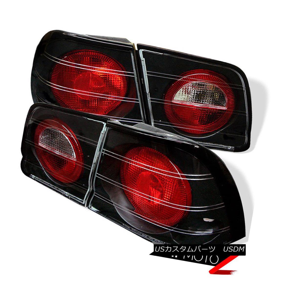 テールライト JDM Black Altezza Tail Light Signal Lamp For 95-96 Maxima 4DR VQ30 V6 3.0 JDM Black Altezzaテールライト信号ランプ95-96 Maxima 4DR VQ30 V6 3.0