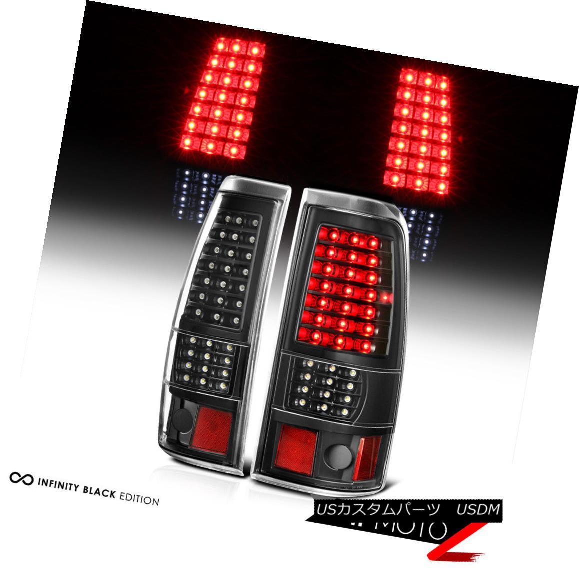 テールライト GMC SIerra 1999-2002 Chevy Silverado 1500 2500 3500 LED Signal Brake Tail Lights GMC SIERRA 1999-2002 Chevy Silverado 1500 2500 3500 LED信号ブレーキテールライト
