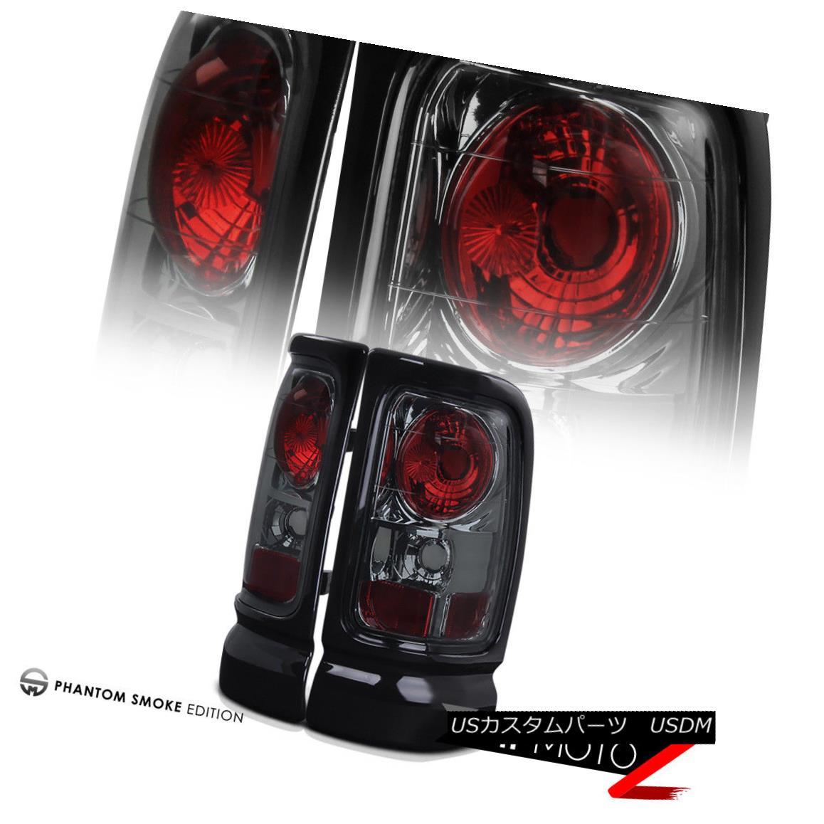 テールライト Dodge 1500 2500 3500 Ram 94-01 Smoke Tail Lights Lamps Rear Brake LH RH Pair ダッジ1500 2500 3500ラム94-01煙テールライトランプリアブレーキLH RHペア