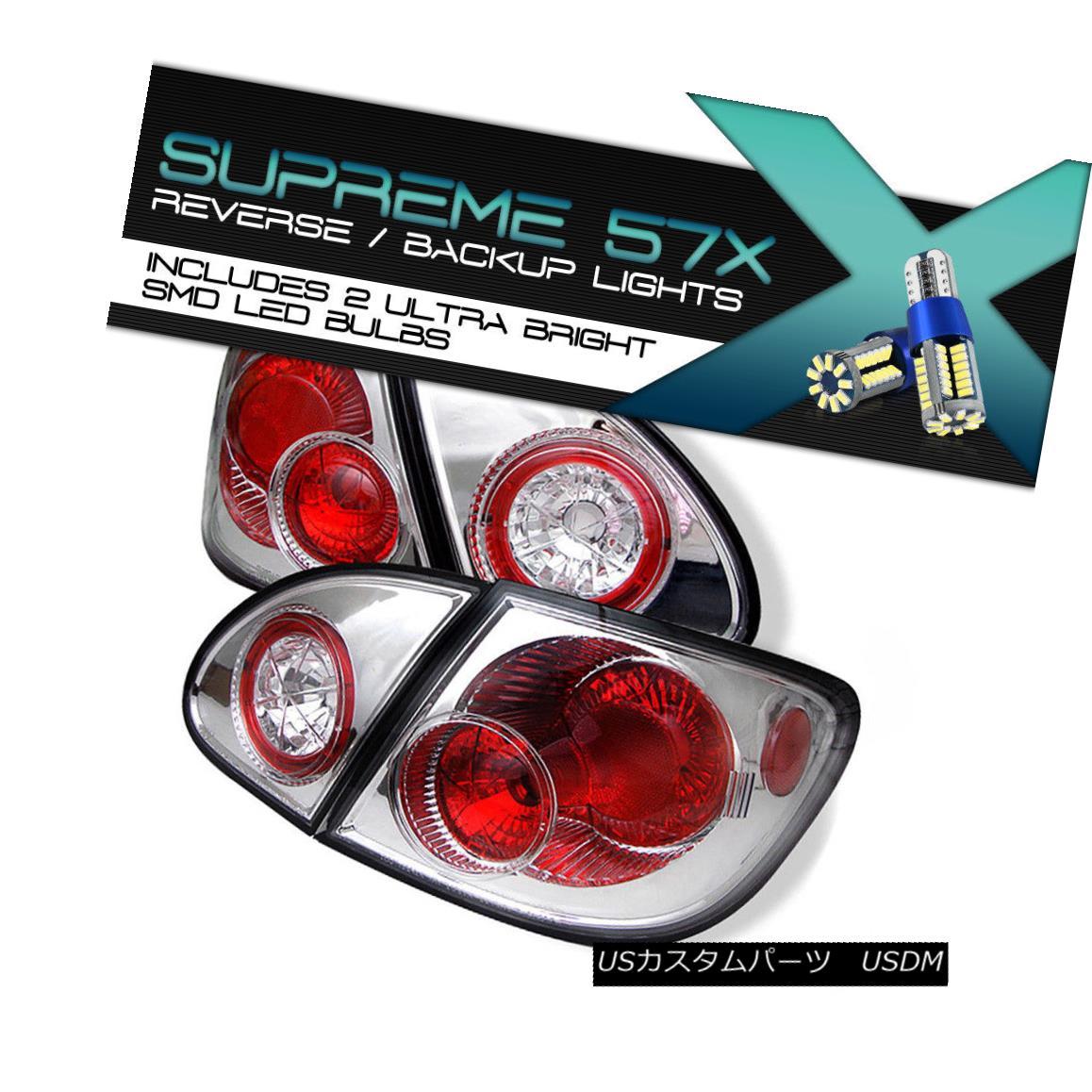 テールライト Full SMD Backup Toyota Corolla 03-08 Clear Altezza Tail Lights Brake Left+Right フルSMDバックアップトヨタカローラ03-08クリアAltezzaテールライトブレーキ左+右