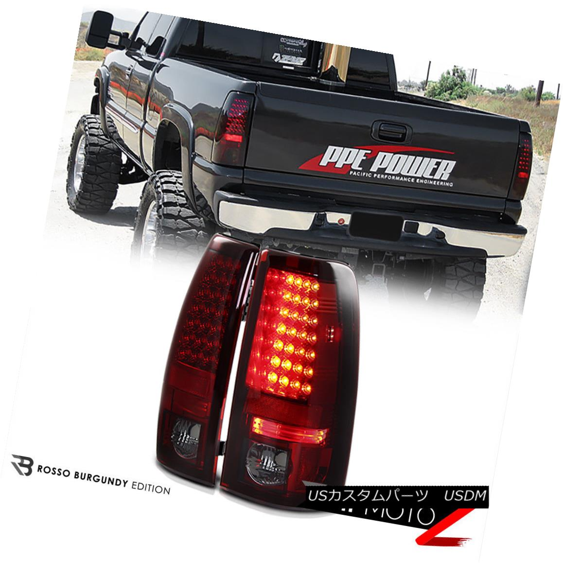 テールライト Chevy Silverado/Sierra Silverado 1500 Sier/2500 V8 2003-2006 L+R L Smoke/Red LED Tail Light Lamp Chevy Silverado/ Sier ra 1500/2500 V8 2003-2006 L + R煙/赤LEDテールライトランプ, トータルビル用品:aced6aa2 --- officewill.xsrv.jp