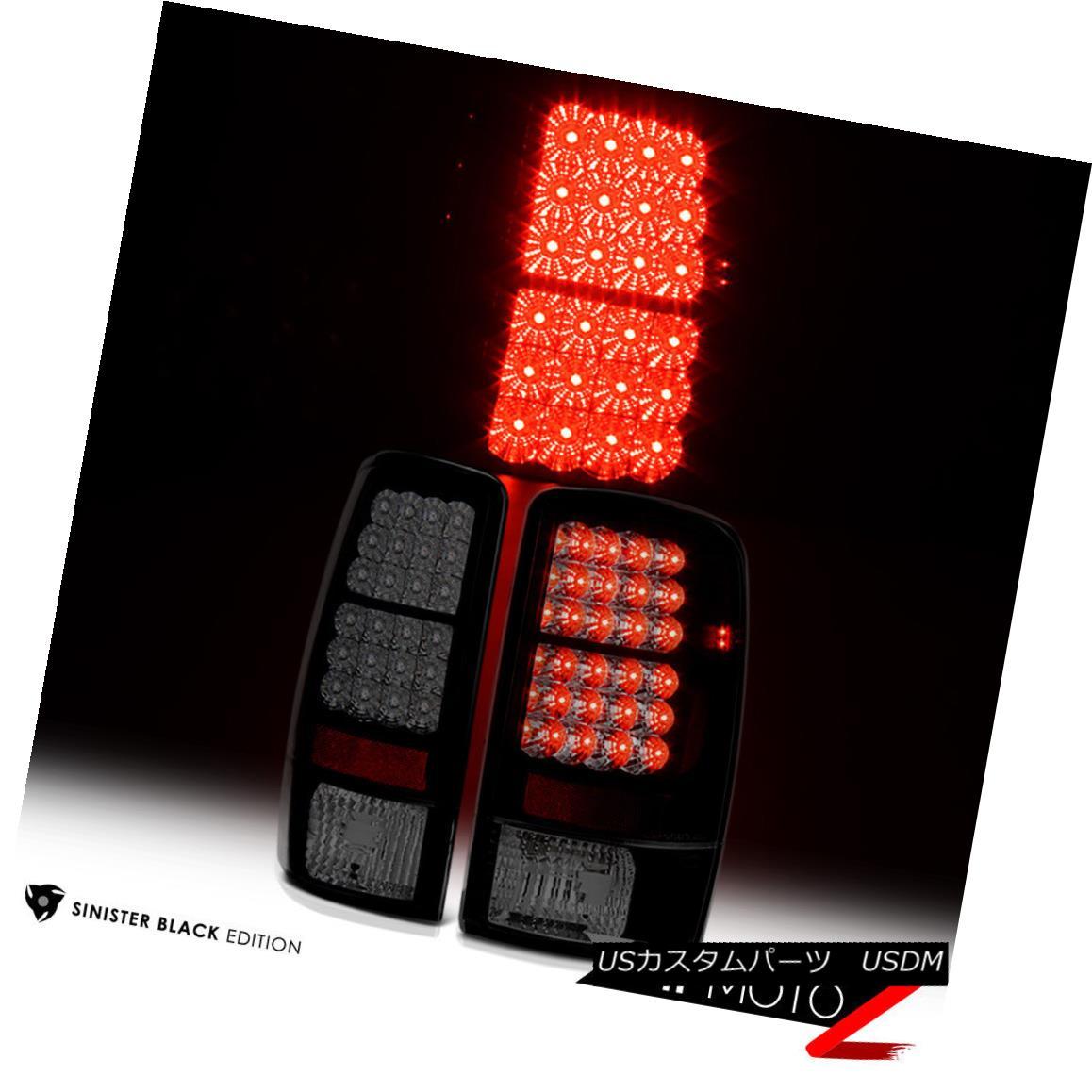 テールライト Sinister Black [THE DARKEST] 00-06 GMC Yukon XL Suburban Tahoe LED SMD Tail Lamp Sinister Black [THE DARKEST] 00-06 GMC Yukon XL郊外のTahoe LED SMDテールランプ