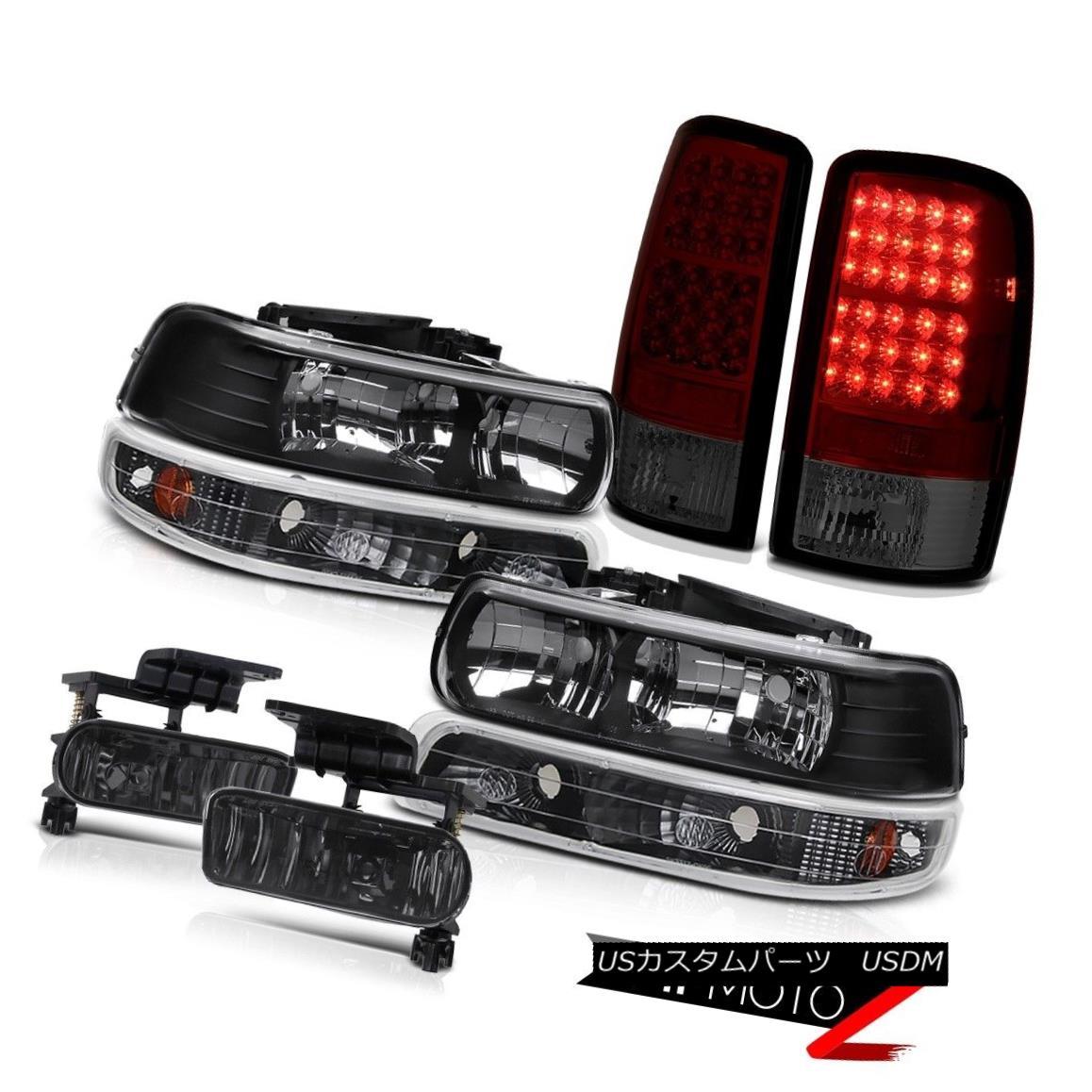 テールライト Headlights Black Parking LED Bulbs Tail Lights Driving Fog 00-06 Suburban LS ヘッドライトブラックパーキングLED電球テールライトドライビングフォグ00-06 Suburban LS