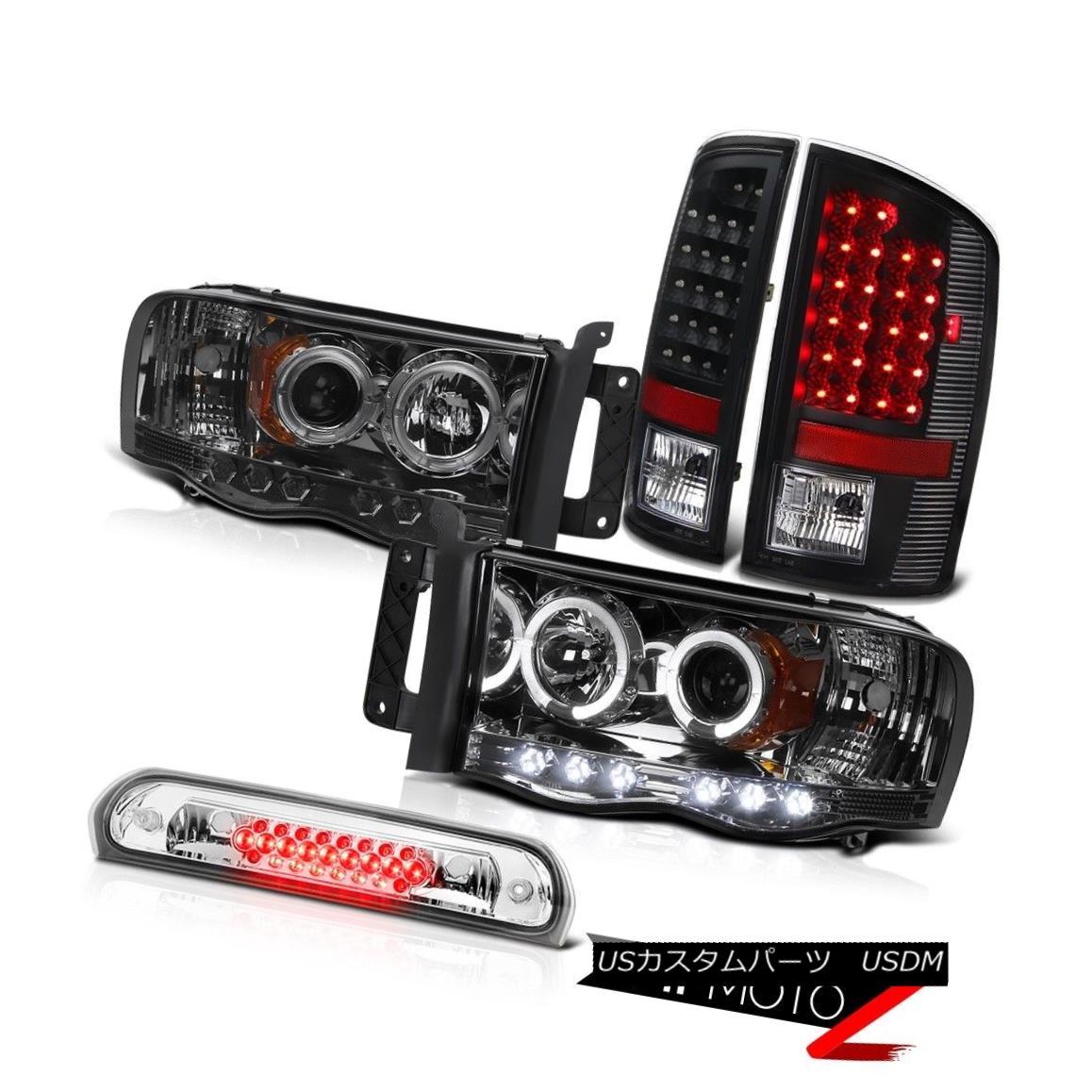 テールライト Projector Headlights Smoke Black LED Tail Lamps Brake Cargo 02 03 04 05 Ram WS プロジェクターヘッドライトスモークブラックLEDテールランプブレーキカーゴ02 03 04 05 Ram WS