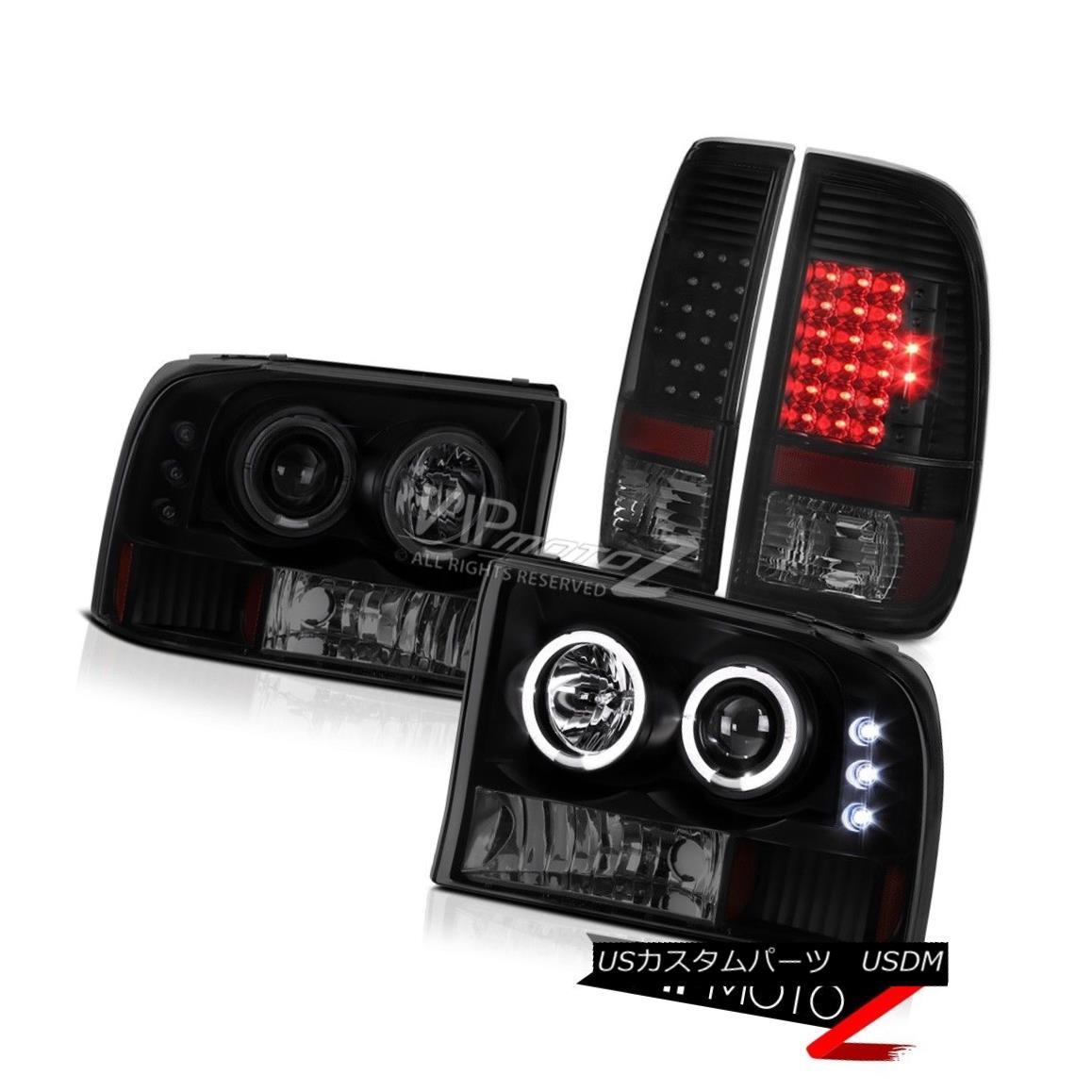 テールライト SMD DRL Headlamps Sinister Black LED Brake Lamps 99 00 01 02 03 04 Ford F-250 XL SMD DRLヘッドランプSinister Black LEDブレーキランプ99 00 01 02 03 04 Ford F-250 XL