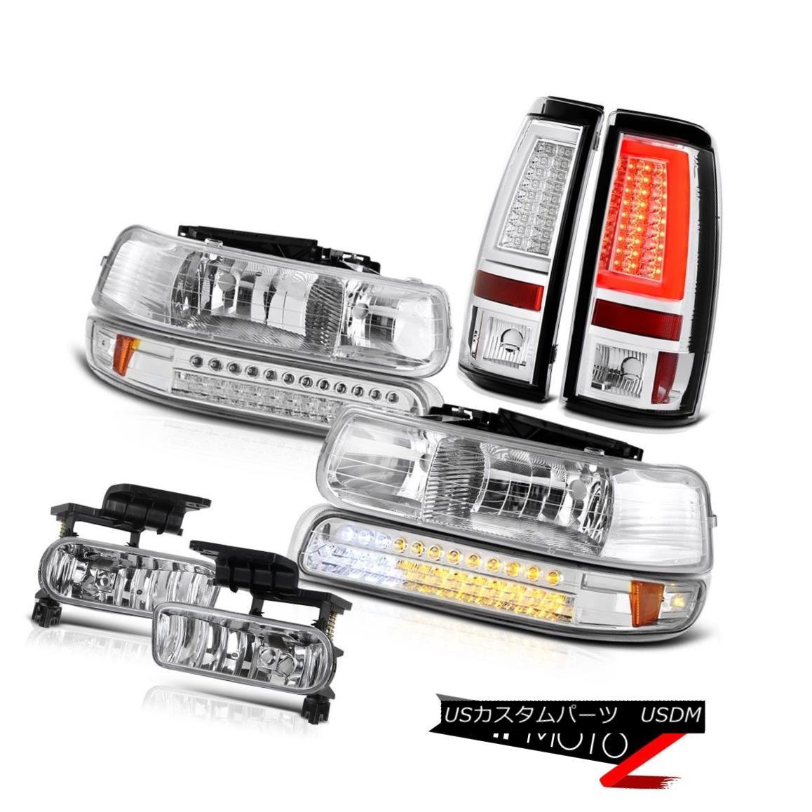 テールライト 99-02 Silverado 6.0L Parking Brake Lights Headlights Lamp Fog Lamps Replacement 99-02 Silverado 6.0Lパーキングブレーキライトヘッドライトランプフォグランプの交換