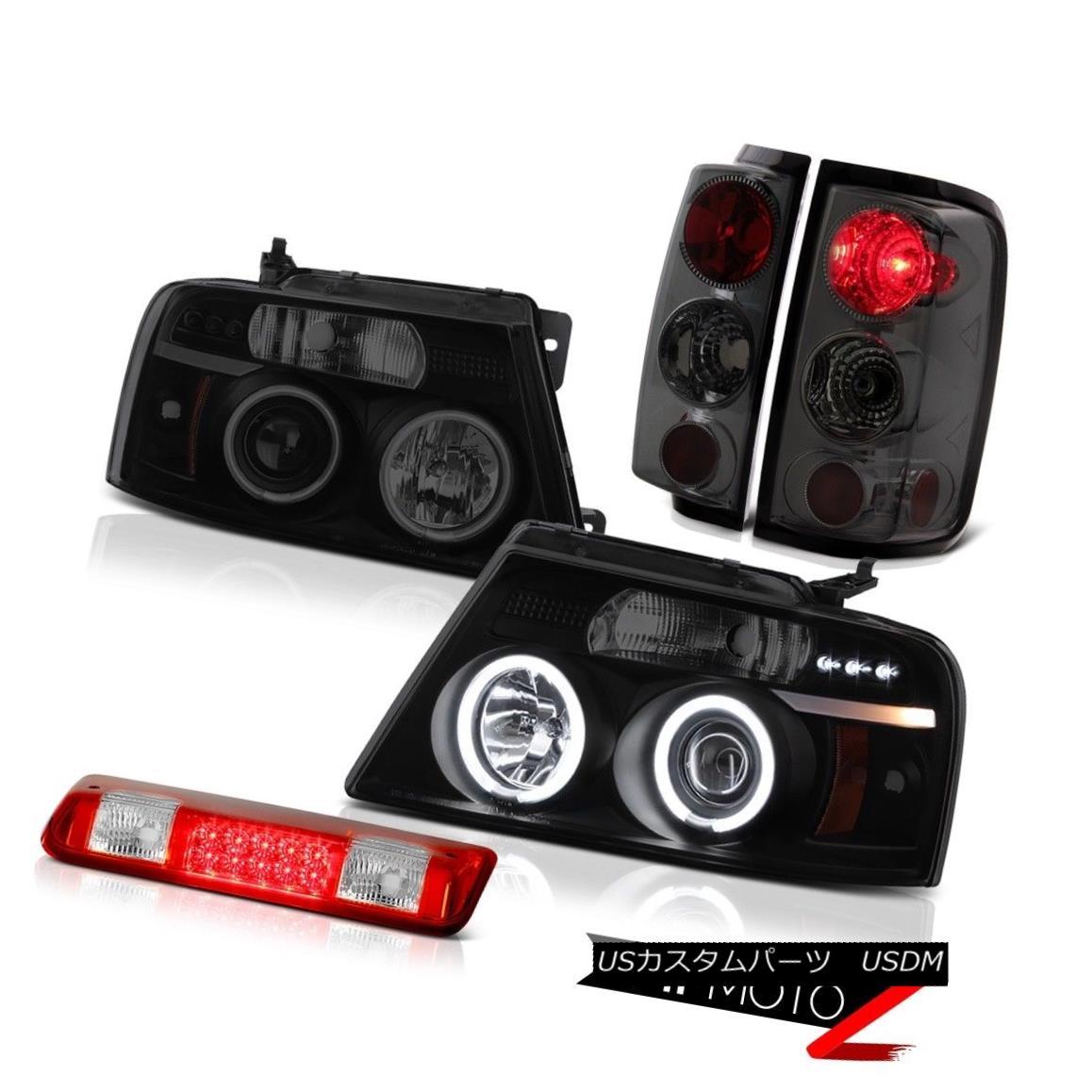 テールライト 2004-2008 Ford F150 FX4 High Stop Lamp Headlights Tail Lights LED CCFL Rim Cool 2004-2008フォードF150 FX4ハイストップランプヘッドライトテールライトLED CCFLリムクール