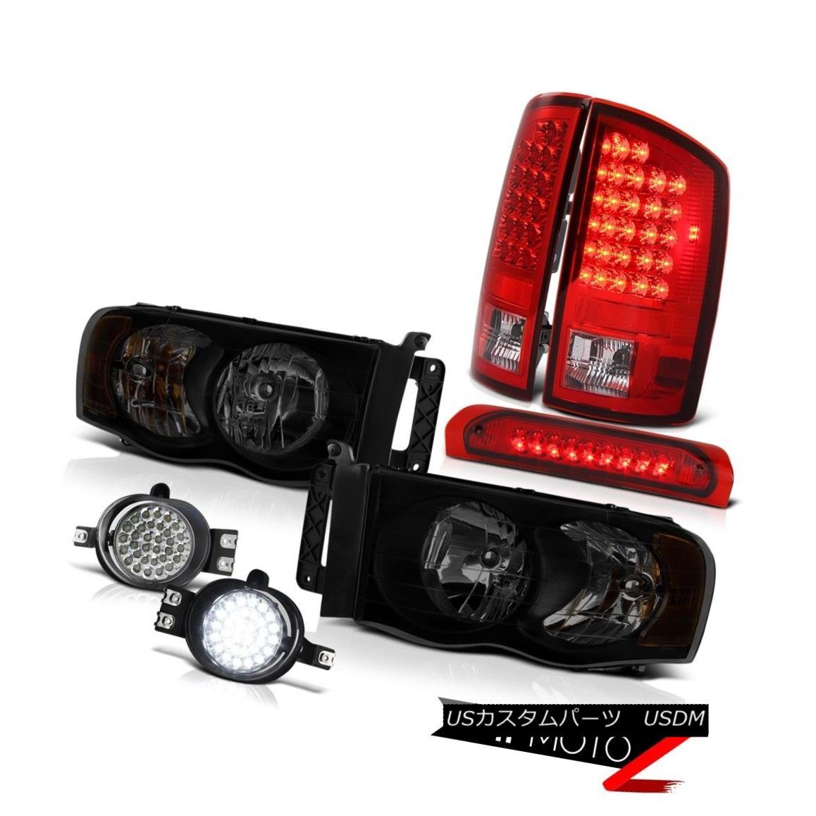 テールライト 02-05 Dodge Ram 1500 2500 4.7L Headlamps Foglights Roof Cab Light Taillights LED 02-05 Dodge Ram 1500 2500 4.7LヘッドランプフォグライトルーフキャブライトテールライトLED