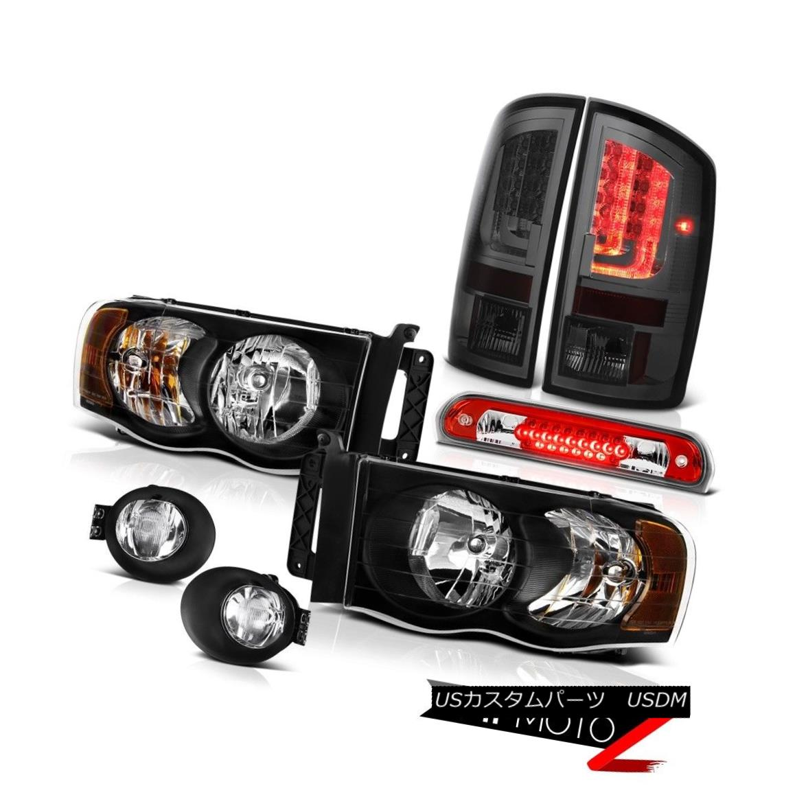 テールライト 2002-2005 Dodge Ram 1500 ST Tail Lamps Fog Headlamps High STop Light Replacement 2002-2005 Dodge Ram 1500 STテールランプフォグヘッドランプHigh STOPライト交換