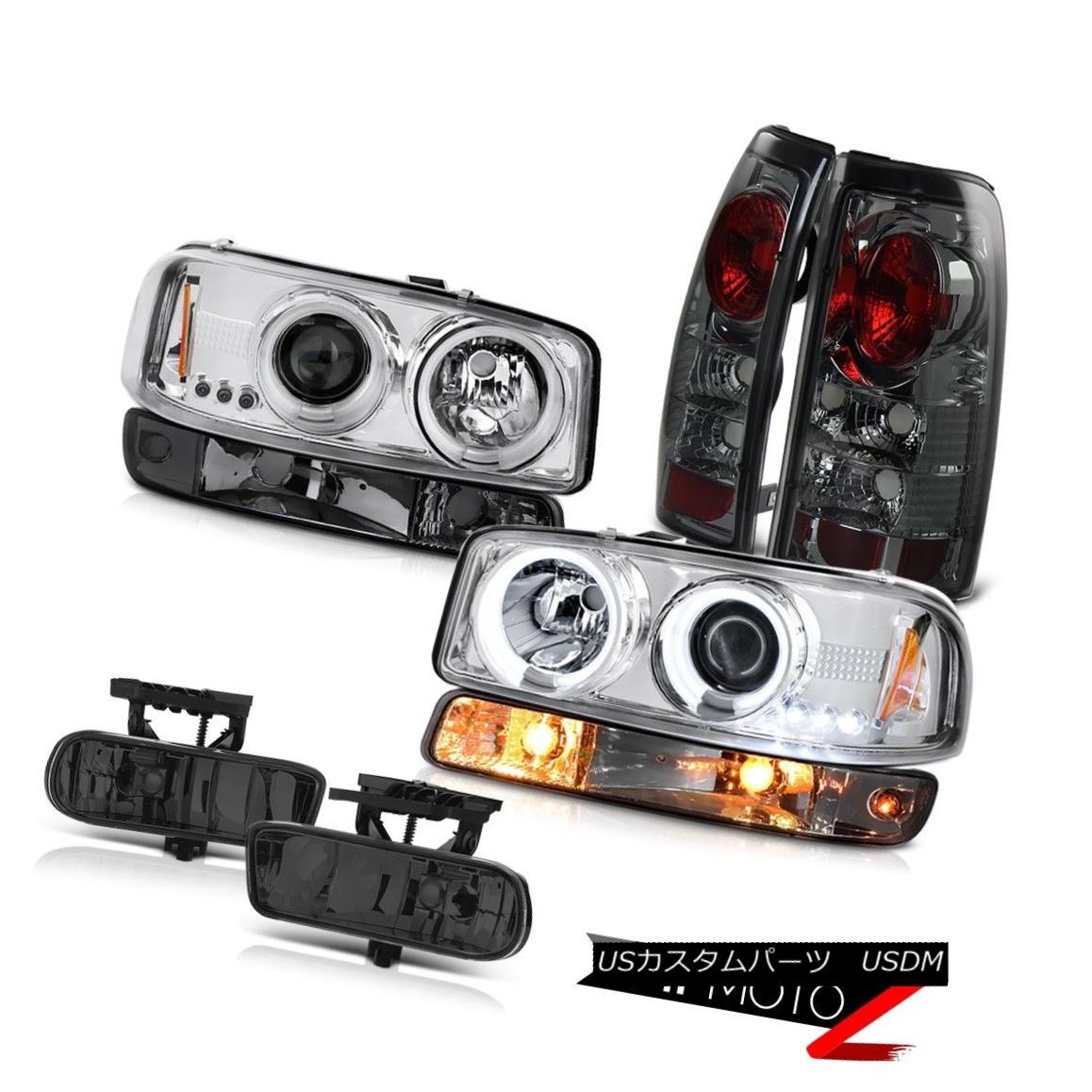 テールライト 99-02 Sierra 6.0L Foglamps rear brake lights signal light chrome ccfl headlamps 99-02 Sierra 6.0Lフォグランプリアブレーキライト信号ライトクロムccflヘッドライト