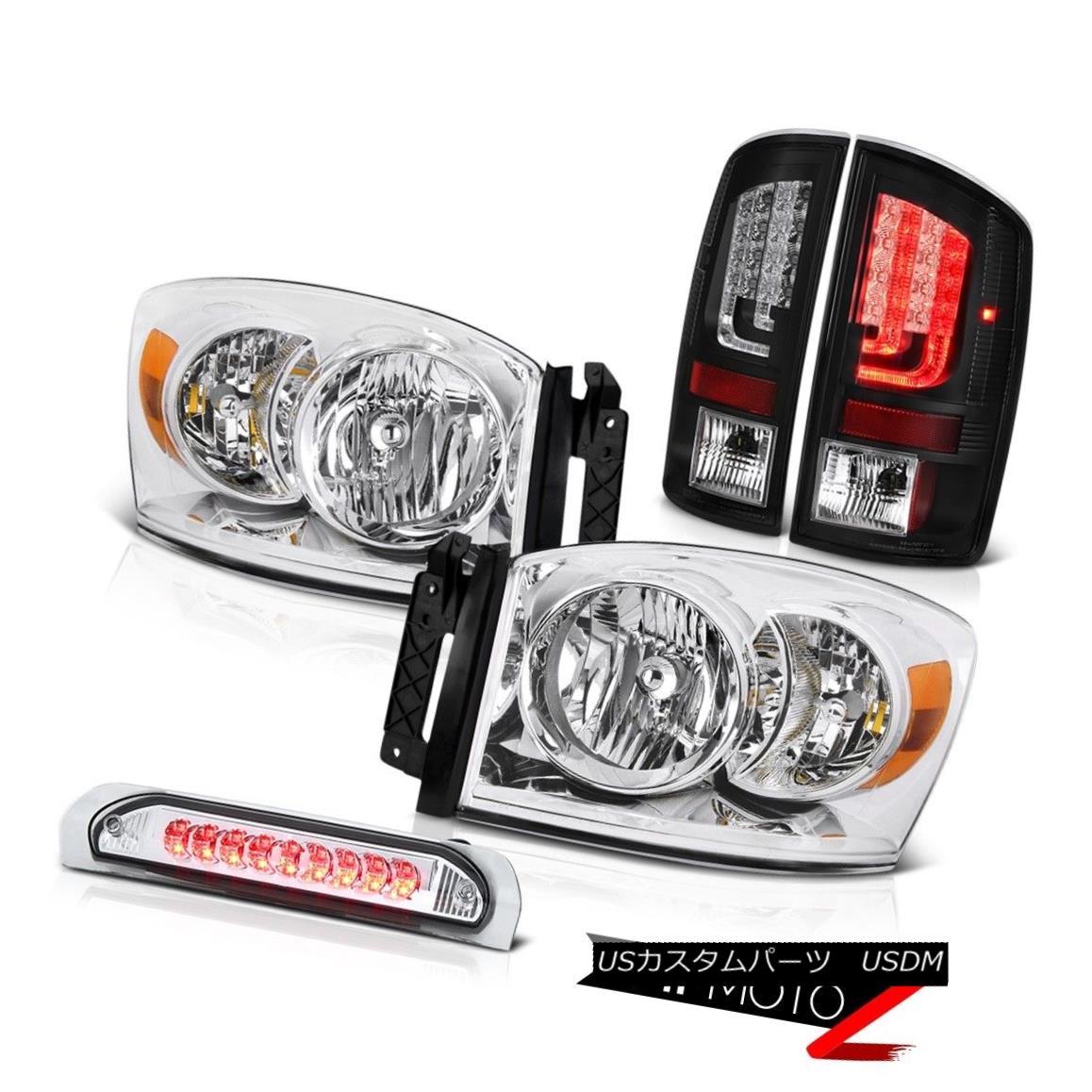 テールライト 07-08 Dodge Ram 1500 5.7L Tail Brake Lamps Headlamps Roof Light