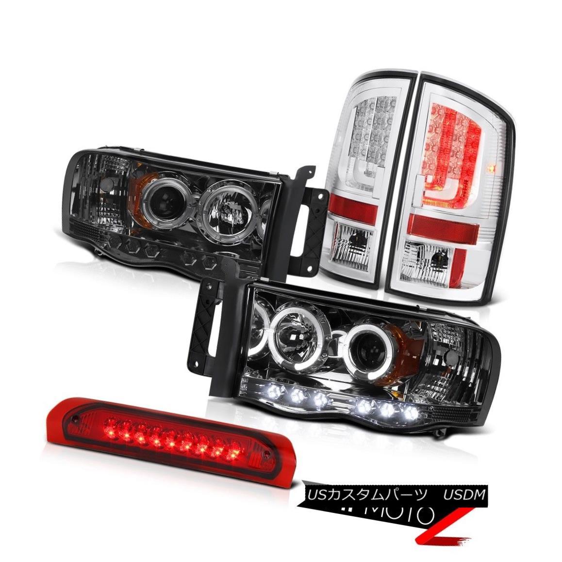 テールライト 2003-2005 Dodge Ram 1500 4.7L Tail Lights Headlights 3RD Brake Light
