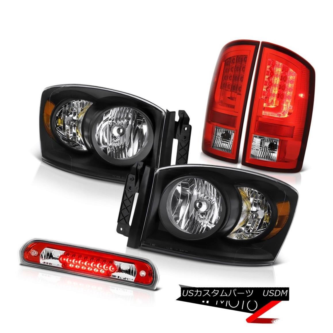 テールライト 2006 Ram WS Taillamps Headlamps Roof Brake Lamp OLED Neon Tube LED