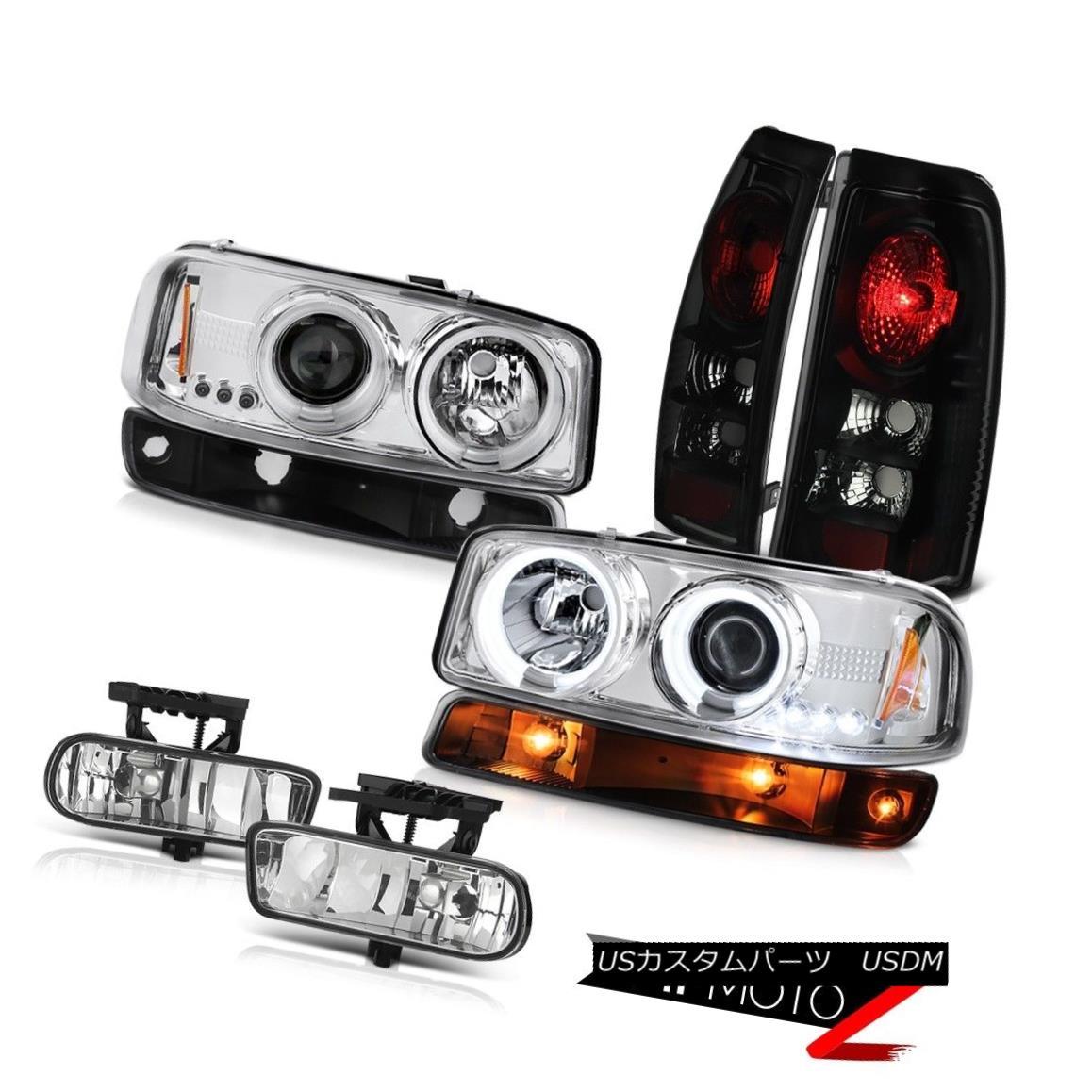 テールライト 1999-2002 Sierra SL Fog lights rear brake lamps signal light ccfl headlamps LED 1999-2002シエラSLフォグライトリアブレーキランプシグナルライトccflヘッドライトLED