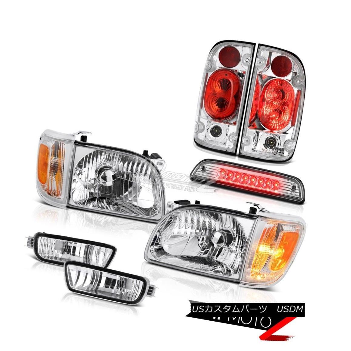 テールライト 01 02 03 04 Toyota Tacoma SR5 Roof cab lamp rear brake lights headlamps bumper 01 02 03 04トヨタタコマSR5ルーフキャブランプリアブレーキライトヘッドランプバンパー