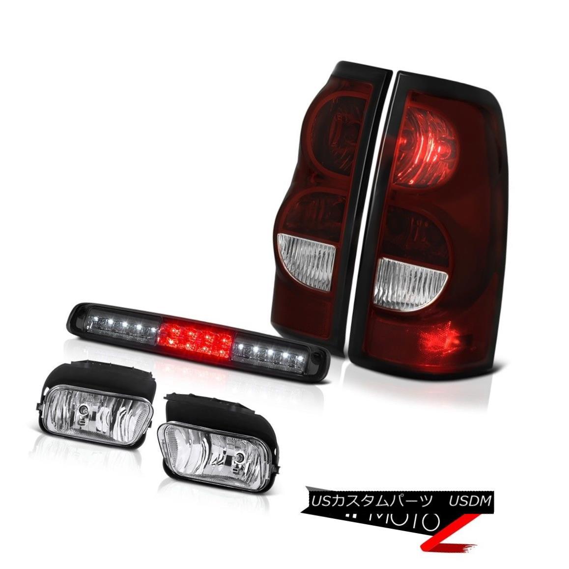 テールライト 03-06 Chevy Silverado 2500Hd High Stop Lamp Sterling Chrome Fog Lights Taillamps 03-06 Chevy Silverado 2500Hdハイストップランプスターリングクロムフォグライトタイルランプ