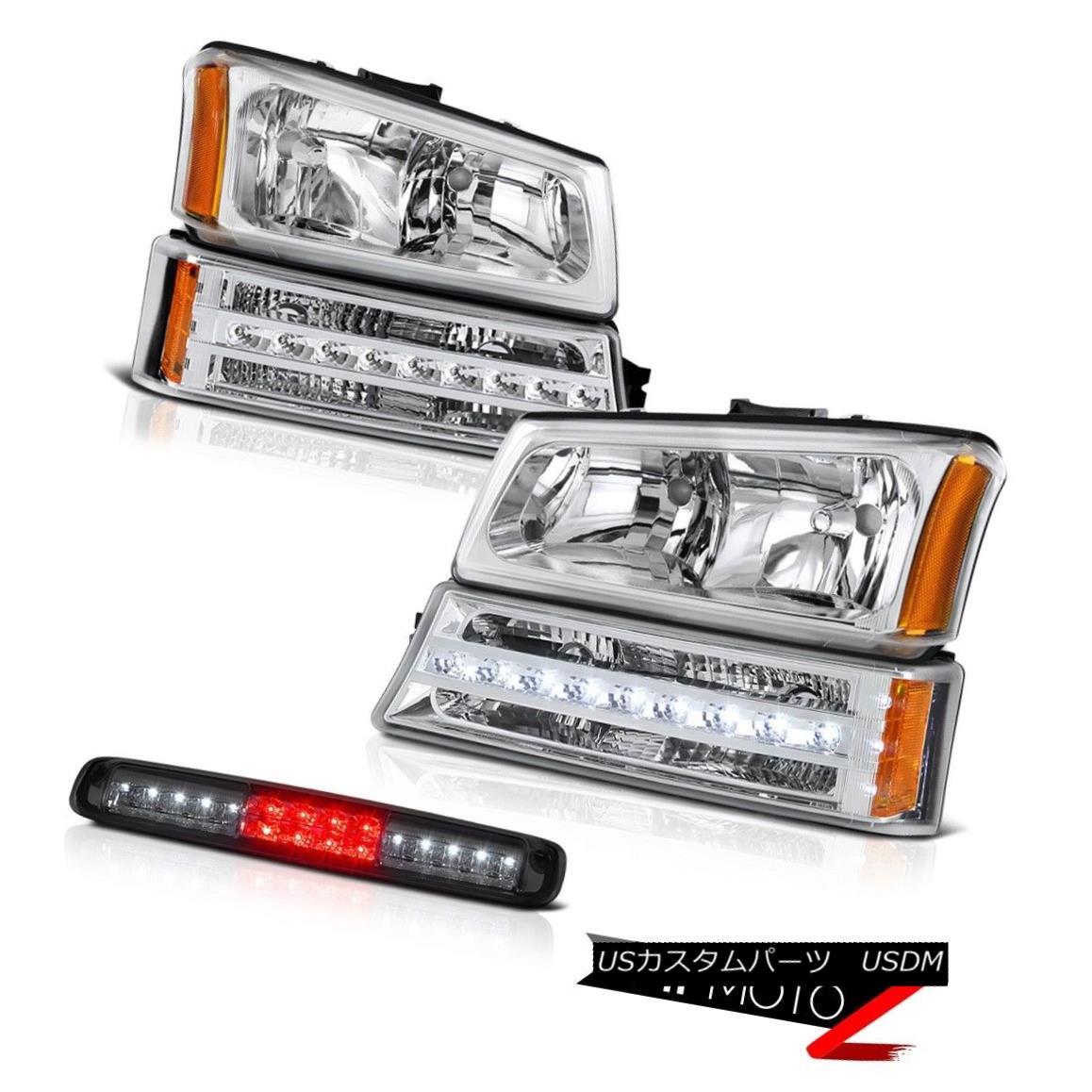 テールライト 2003-2006 Silverado 1500 Phantom Smoke Roof Cab Light Bumper Lamp Headlamps LED 2003-2006 Silverado 1500ファントムスモークルーフキャブライトバンパーランプヘッドライトLED